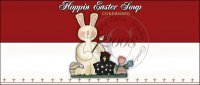 Hoppin Easter Soup Label