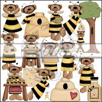 Honey Bee Bears Collection