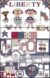 Raggedy Liberty Collection