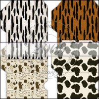Animal Print Gift Card Sleeve Collection