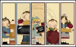 School Time Bookmark Sheet