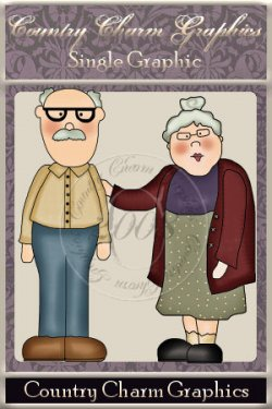 Grandfolks DOUBLE Single Graphic Set