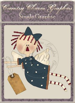 Tag Angel Annie Single Graphic Set