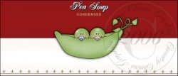 Pea Soup Label