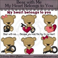 Bear with Me My Heart Belongs to You Mini Collection