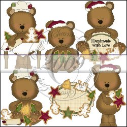 Little Bears Christmas Cookies Mini Collection