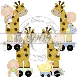 Giraffe Toys Mini Collection