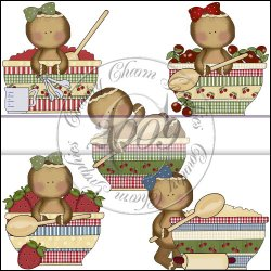Gingerbread Bowls Mini Collection
