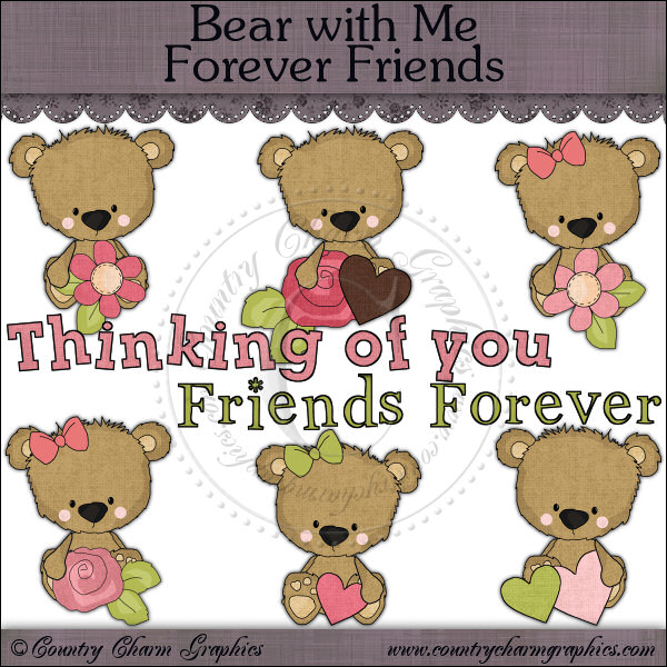 Bear with Me Forever Friends Mini Collection - Click Image to Close