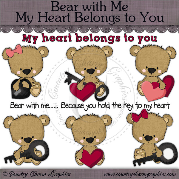 Bear with Me My Heart Belongs to You Mini Collection - Click Image to Close