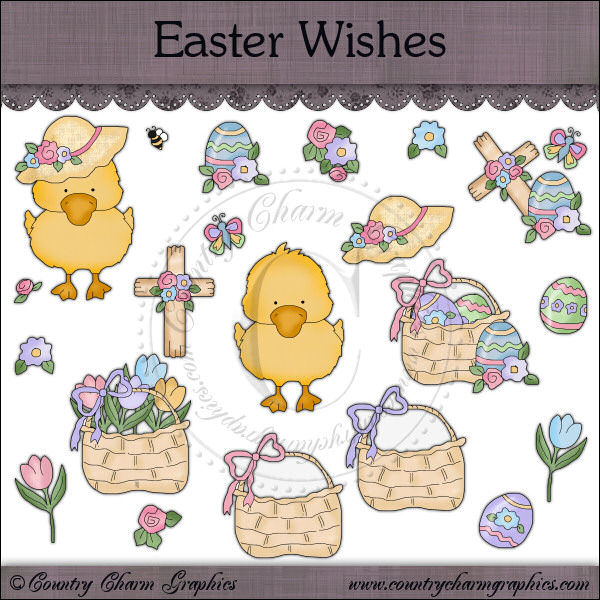 Easter Wishes Mini Collection - Click Image to Close