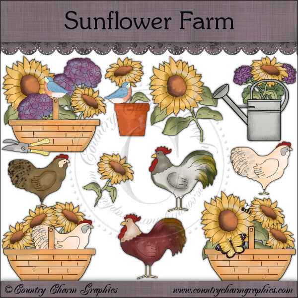 Sunflower Farm Mini Collection - Click Image to Close
