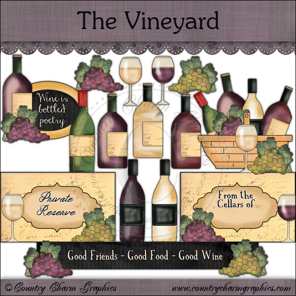 The Vineyard Mini Collection - Click Image to Close