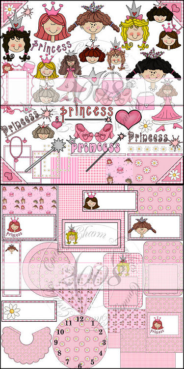 Prim Pretty Princess Collection - Click Image to Close