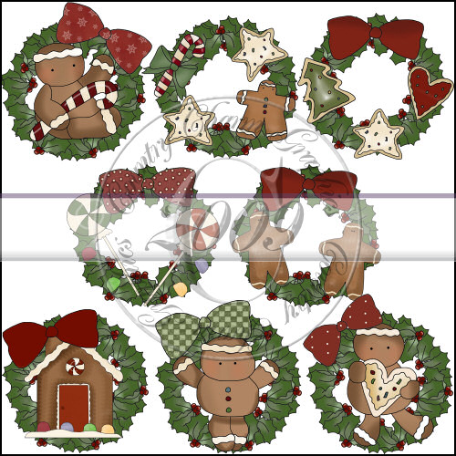 Sweet Wreaths Mini Collection - Click Image to Close