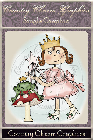 Frog Prince Single Graphic Set - Click Image to Close