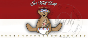 Get Well Soup Label - Click Image to Close